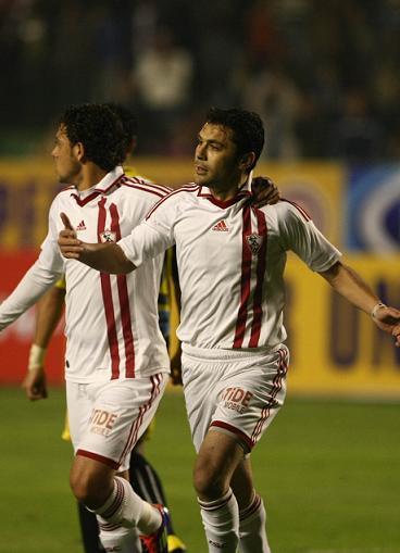 أحمد حسن : أتمنى تحقيق بطولة مع الزمالك .. ولم اتوقع إحراز هدفين