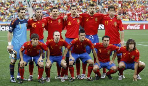 أسبانيا تنهي العام في صدارة تصنيف منتخبات كرة القدم للمرة الرابعة