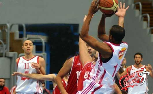 خاص.. الزمالك يهزم الأوليمبي بسهوله في دوري السلة