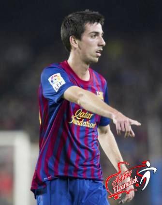 اساك يمدد عقده مع برشلونة حتى 2015