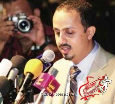 وزير الرياضة اليمني يعزي نظيره المصري في شهداء ملعب بورسعيد