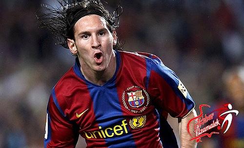 ميسي يغيب لأول مره في تاريخه عن برشلونة أمام خيخون