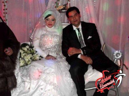 """بالصور .. """"أخبار الزمالك"""" يهنئ الزميل احمد عبد المنعم بمناسبة زفافه السعيد"""