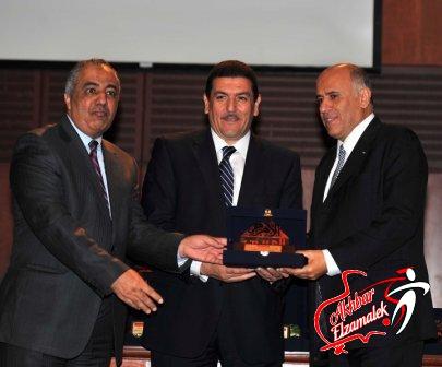 شاهد بالصور الحصرية ..الاهرام تكرم الرياضيين العرب في اكبر استفتاء سنوي