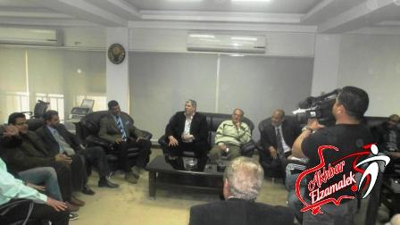 بركاتك يا شوبير .. رأفت عبد العظيم يتراجع عن استقالته بدعوى مصلحة النادي
