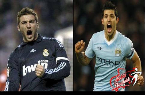 جماهير ريال مدريد ترفض إجراء صفقة تبادلية بين إيجواين وأجويرو