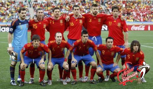 مدربو يورو 2012 يجمعون على أن المنتخب الأسباني هو المرشح الأبرز للقب