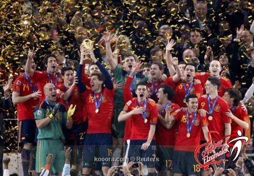 """إسبانيا تواصل تصدر تصنيف """"فيفا"""" وأوروجواي في المركز الثالث لأول مرة بتاريخها"""