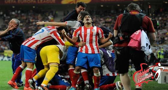 أتلتيكو مدريد يتوج بلقب الدوري الأوروبي