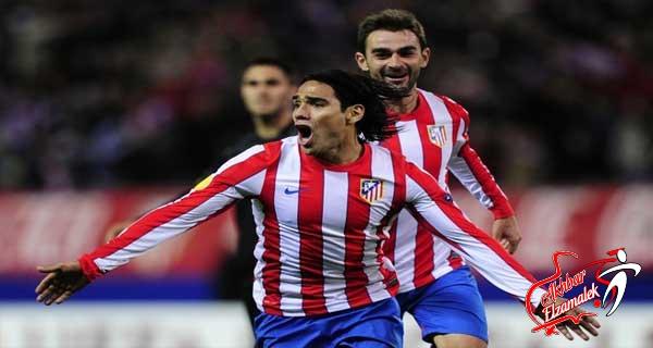 أتلتيكو مدريد يتخلى عن مهاجمة فالكاو