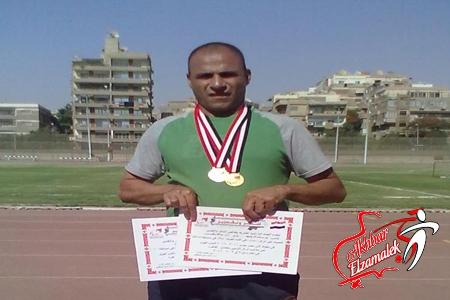 يوسف الزيني نجم الزمالك أول الجمهورية في ألعاب القوي