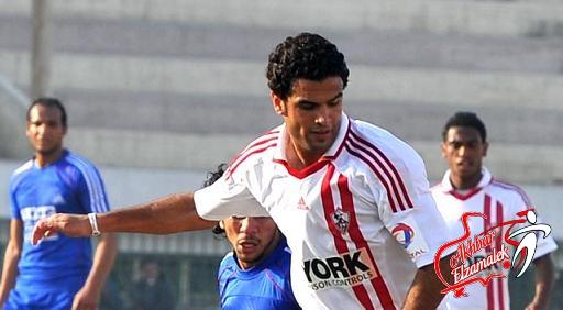 إصابة أحمد جعفر فى مران الزمالك واللاعب يؤدى برنامج علاجى غداً