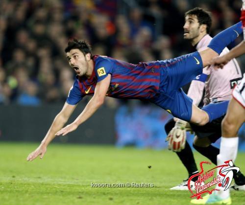 برشلونة يفوز على هامبورج ودياً في أول مباراة له مع فيلانوفا