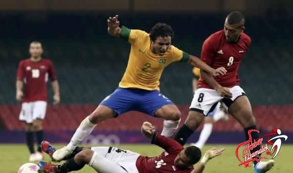 رمزي: البرازيل كسبت الشوط الاول واحنا كسبنا الثاني .. ومينيزيس يصف الأولمبي بالعنيد
