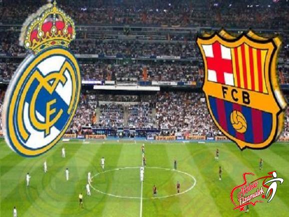 """ريال مدريد يواجه ضغطا مبكرا من برشلونة في معركة """"البرنابيو"""" اليوم"""
