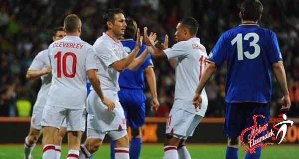 إنجلترا تفوز بخماسية في المجموعة الثامنة لتصفيات كأس العالم