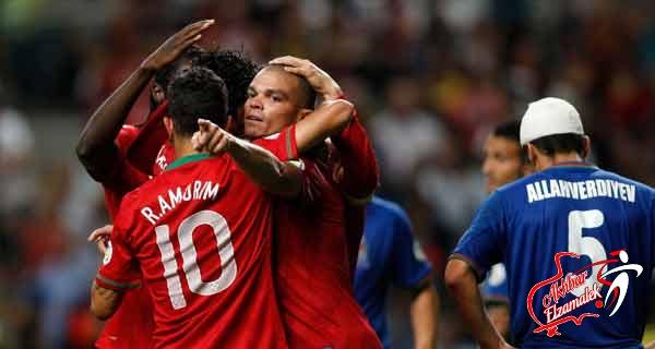 البرتغال وروسيا يتقاسمان صدارة المجموعة السادسة