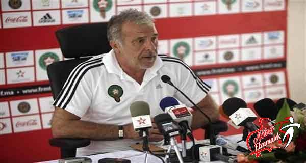 المغرب يعلن انفصاله عن المدرب البلجيكي جيريتس