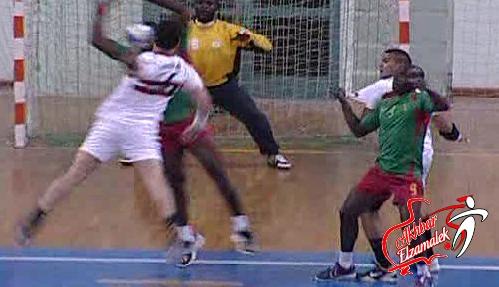 يد الزمالك تواجه فاب الكاميروني غداً في ربع نهائي بطولة افريقيا