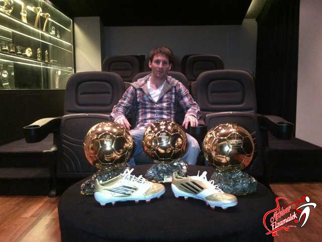 ميسي أفضل هداف فى العالم خلال 2012