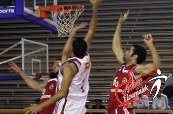 الزمالك يحقق الفوز علي الأهلي في كرة السلة ويصعد للمركز الثاني