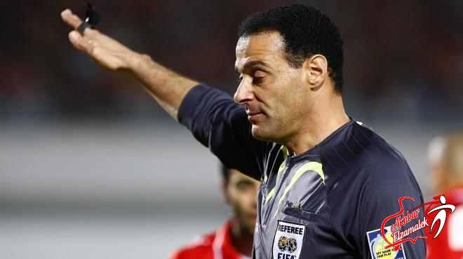 عبد الفتاح يناقش اخطاء الحكام في الدوري الخميس