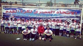 أكاديمية اتليتكو مدريد تفوز ببطولة القاهرة بعد اكتساح دجلة