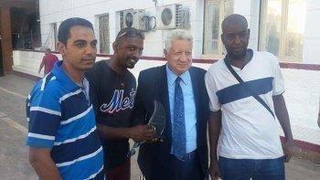 شاهد جمعية نوبة للاعمال الخيرية تكرم مرتضي منصور