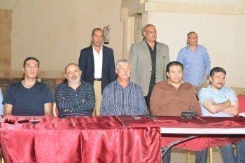 بالصور .. مجلس إدارة الصيد يحضر حفل إفطار مع العاملين في فرع أكتوبر