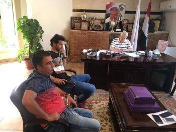 خاص وعاجل  ...محمود علاء فى الزمالك رسميا.