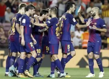 برشلونة يداوى جراح السوبر على حساب ريال بيتيس