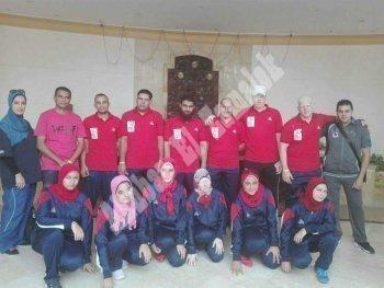 بالصور.. وصول وفود البطولة الافريقية لكرة الهدف شرم الشيخ