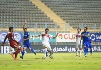 محمد حمدي : الزمالك فريق كبير واحترم الجماهير البيضاء