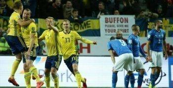 عاجل بالفيديو السويد  تحرم المنتخب الإيطالي من التأهل لكأس العالم