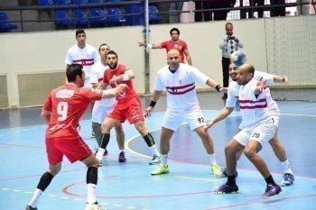 كوماندوز يد الزمالك تتأهل لربع نهائي كأس مصر