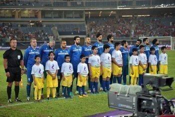 شاهد .. بالصور مباراة مصر والكويت