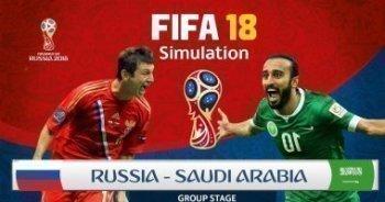 غدًا | تعرف على موعد مباراة السعودية وروسيا فى افتتاح المونديال
