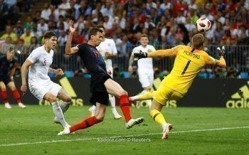 شاهد كرواتيا تقتل الاسود الثلاثة وتصل إلى نهائي كأس العالم بروسيا