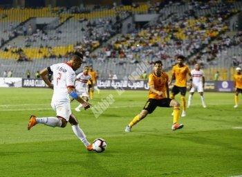 بالصور  شاهد مباراة الزمالك والقادسية في البطولة العربية