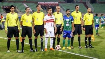 صور مباراة الزمالك والمقاصة في الدوري