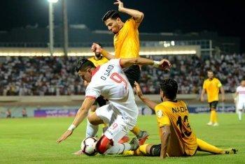 عمر السعيد يهدر فرصة تقدم الزمالك على القادسية وإيقاف المباراة