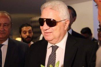 اول رد فعل من مرتضي منصور بعد قرار إيقافه
