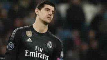 تقارير إسبانية تكشف كورتوا يصيب  ريال مدريد بصدمة