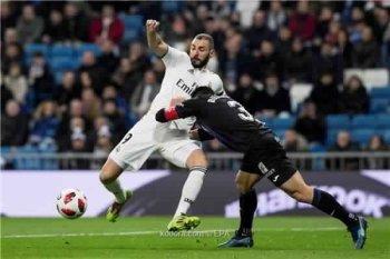 بالفيديو ..ريال مدريد يضع قدم بدور ال8 بكأس الملك