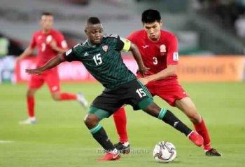 الإمارات يفلت من مفاجآت بطولة اسيا بالضربة القاضية
