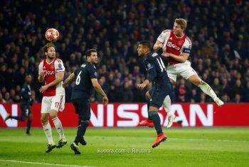 ريال مدريد يواصل صحوته فى هولندا وتوتنهام يكتسح بروسيا دورتموند الالمانى