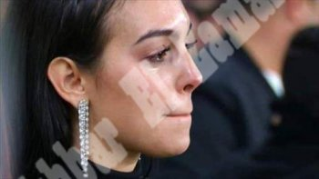 بالصور ..دموع جورجينا صديقة رونالدو تقلب الفيس بوك