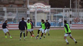 لاعبو الزمالك يتعهدون لمرتضى منصور بالفوز على الأهلي