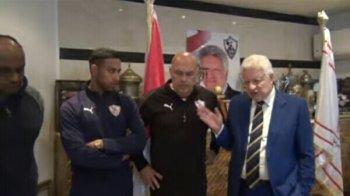 مرتضى منصور  يعد جروس بهدية مثيرة  في حالة الفوز على بيراميدز ويشكر تركي الشيخ ويهاجم اديب