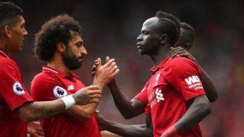 4 أهداف في الشوط الأول من مباراتي ليفربول والسيتي لحسم لقب الدوري